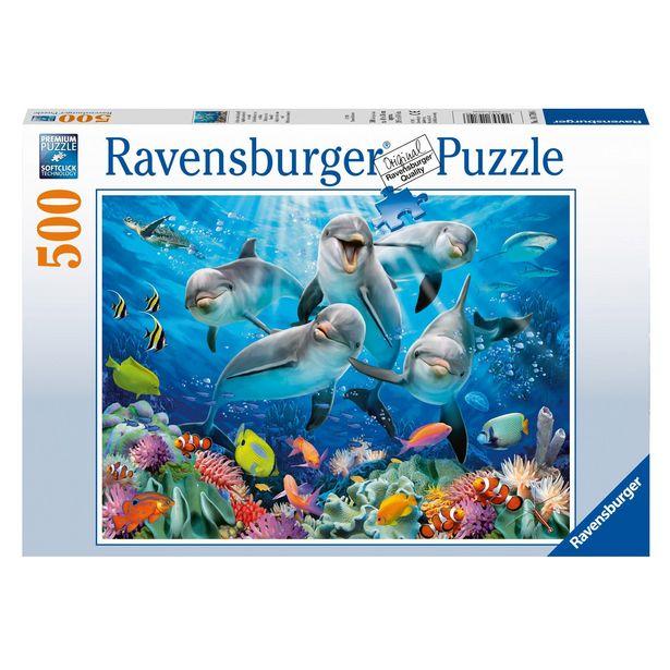 Puzzle Dauphins sur le récif de corail RAVENSBURGE… offre à 12,99€