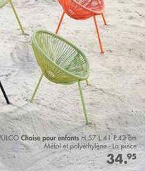 ACAPULCO Chaise pour enfants offre à 34,95€