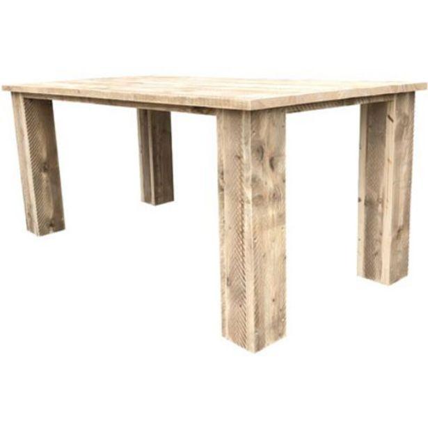 Table de jardin Wood4You 'Texas' bois de construction 220 x 95 cm offre à 399€