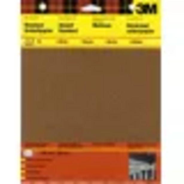Papier abrasif 3M P180/P120/P80 5 pièces offre à 1,4€