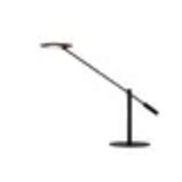 Lampe de bureau LED Lucide Anselmo noire 9W offre à 109€