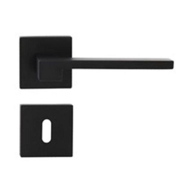 Poignée de porte Sencys Berlin aluminium noir offre à 22,49€
