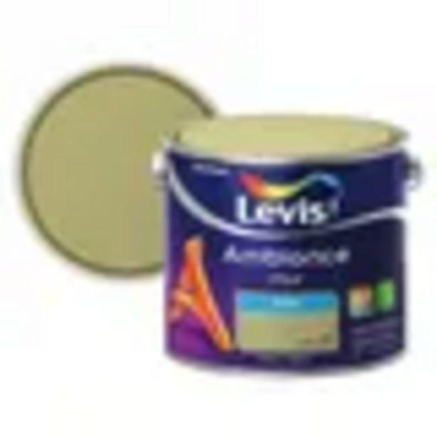 Peinture murale Levis Ambiance Mur olive satin 2,5L offre à 48,74€