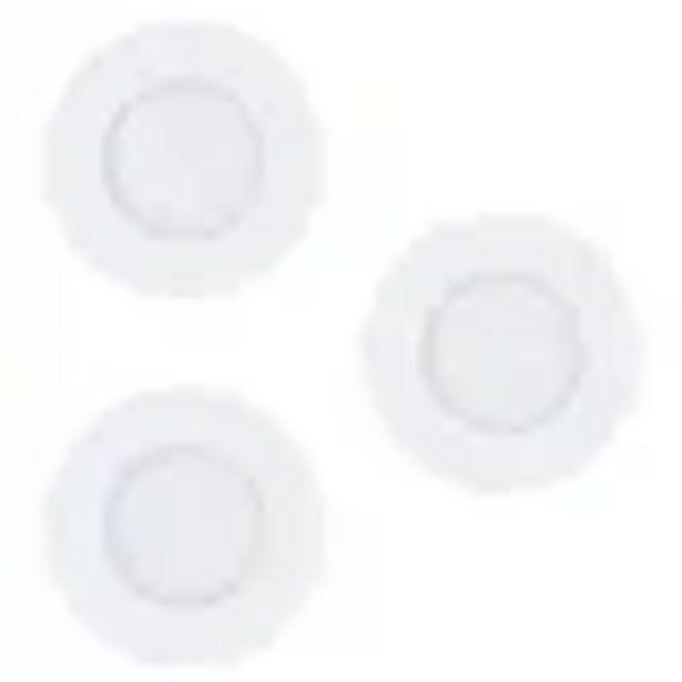 Spot encastrable LED EGLO Fueva-C blanc 3x9W offre à 67,99€