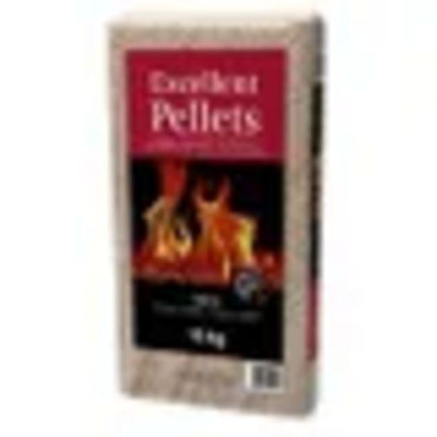 Pellets de bois Excellent 15kg offre à 3,89€
