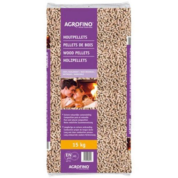 Pellets de bois 100% Agrofino 15kg offre à 4,59€