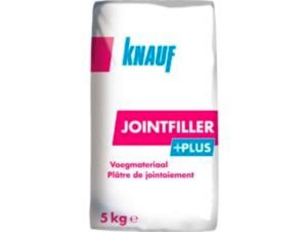 Knauf Jointfiller+ Jointfiller enduit de jointement 5kg offre à 4,99€