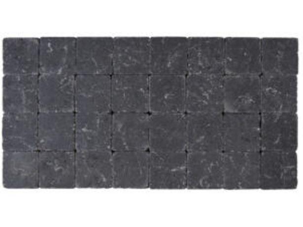 Klinkers tambourinés 10x10x4 cm noir offre à 0,12€