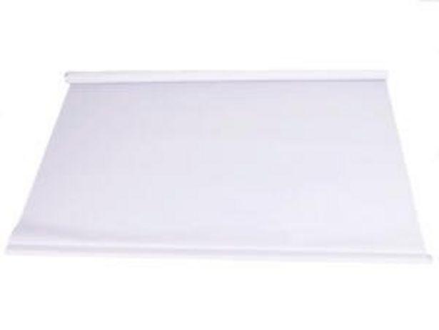 Store enrouleur occultant 90x190 cm blanc offre à 14,99€
