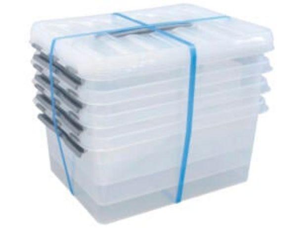 Sunware Q-Line boîte de rangement 15l transparent 4 pièces offre à 19,99€
