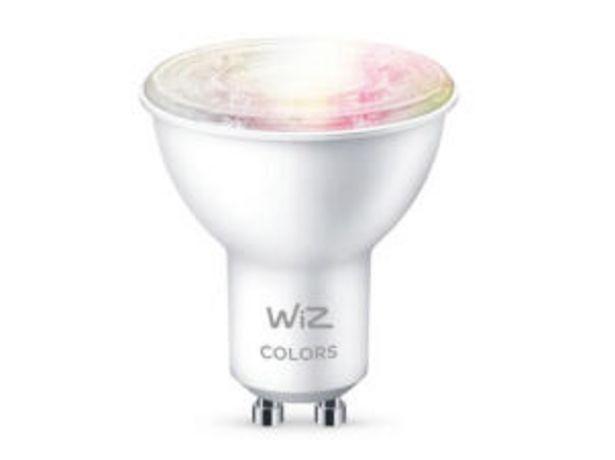 Wiz Color spot LED réflecteur GU10 4,9W dimmable offre à 8,99€