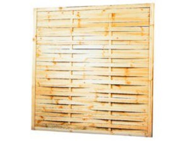 Écran de jardin tressé 180x180 cm offre à 19,99€
