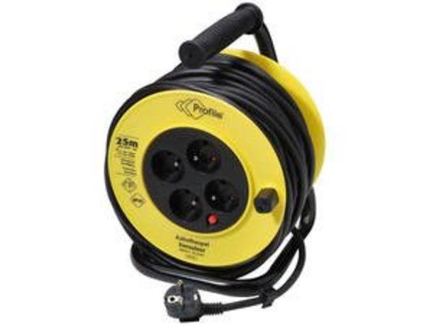Enrouleur de câble 3G1,5 25m offre à 29,99€