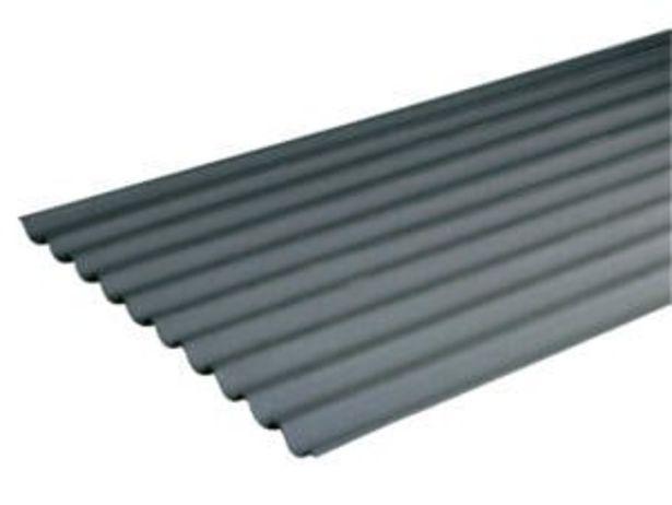 Onduline plaque ondulée bitumée 200x95 cm 2,6mm noir offre à 5,26€