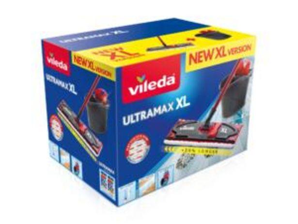 Vileda Ultramax XL set de nettoyage vadrouille plate  offre à 24,99€
