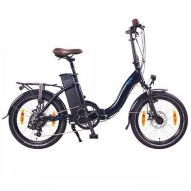 """Ncm - Vélo Vélo électrique pliant NCM Paris 20"""" Bleu Marine offre à 1199€"""