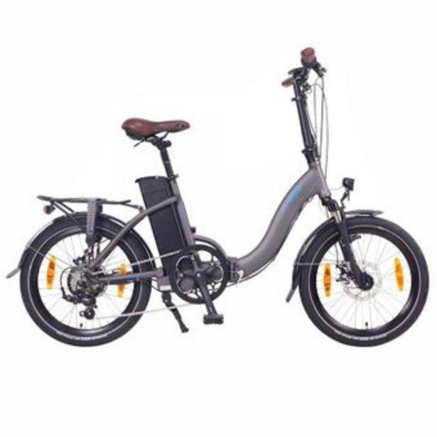 """Ncm - Vélo Vélo électrique pliant NCM Paris 20"""" Gris Anthracite offre à 1199€"""