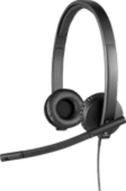 Logitech H570e Stereo USB-A Casque de Bureau offre à 49,99€