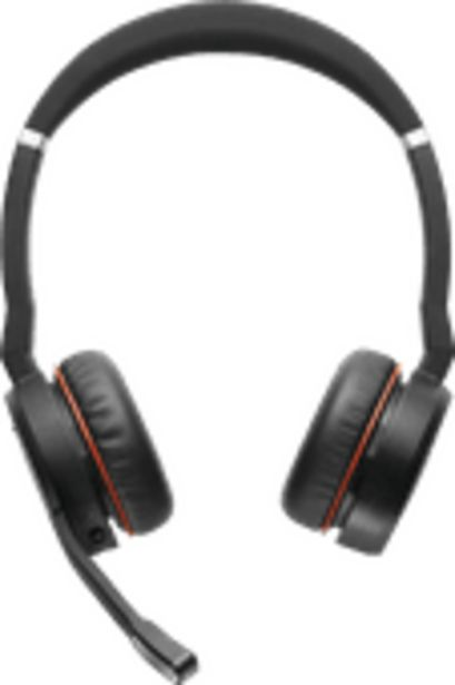 Jabra Evolve 65t UC Casque de bureau Stéréo Sans fil offre à 249€