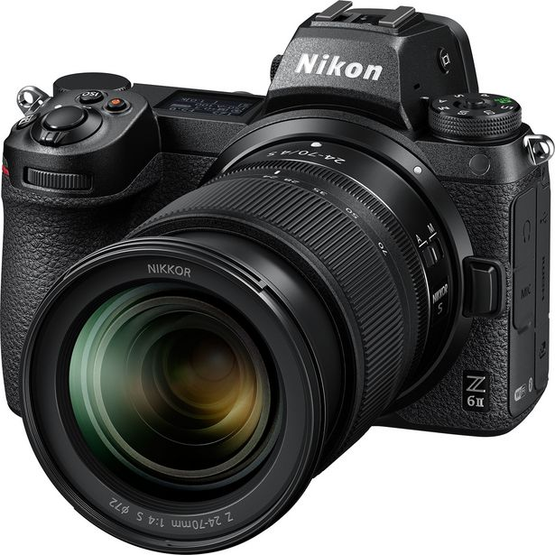 Z 6II + NIKKOR Z 24-70 mm f/4 S offre à 2179€