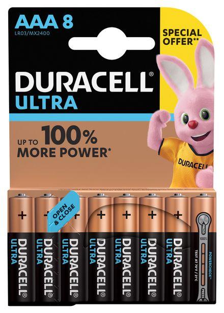Ultra Power Piles Alcalinestype AAA, Lot de 8 piles offre à 14,95€