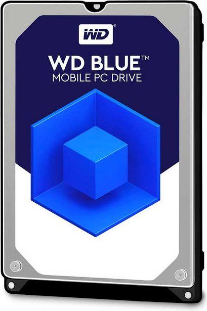 WD Blue™ PC Mobile Hard Drive - 500 Go - WD5000LPCX offre à 43,5€