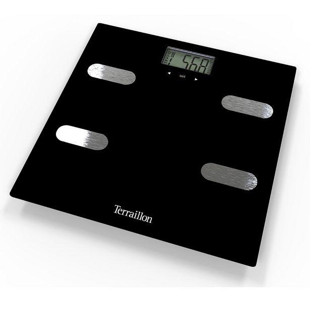 Pèse-personne électronique Fitness Black offre à 29,95€