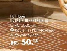 PET Tapis offre à 50,15€