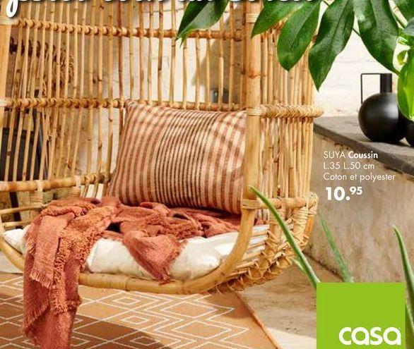 SUYA Coussin offre à 10,95€