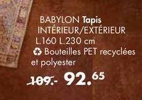 BABYBOL Tapis offre à 92,65€