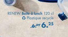 RENEW Boite a lunch offre à 6,25€