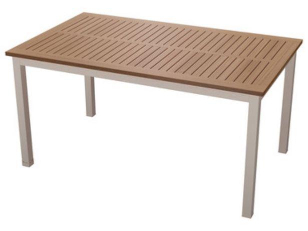 FLORABEST® Table de jardin en aluminium offre à 139€