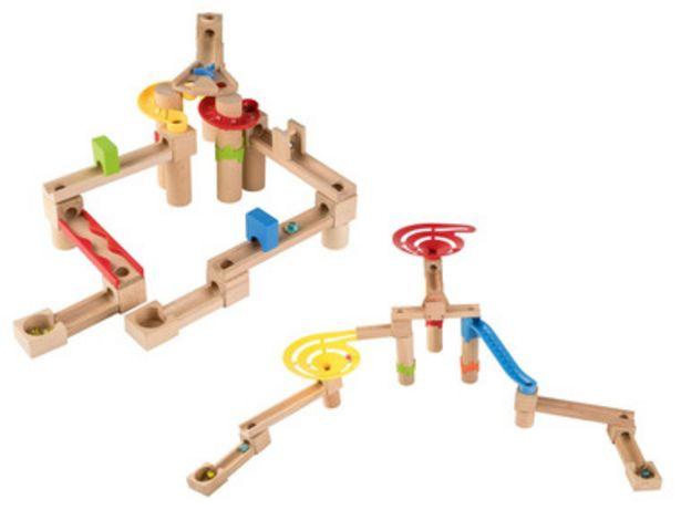 PLAYTIVE® Circuit de billes en bois offre à 14,99€