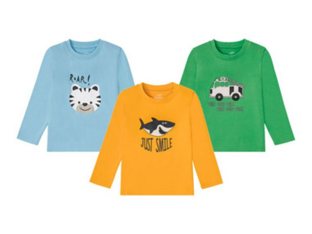 LUPILU® T-shirt à manches longues en coton offre à 3,99€