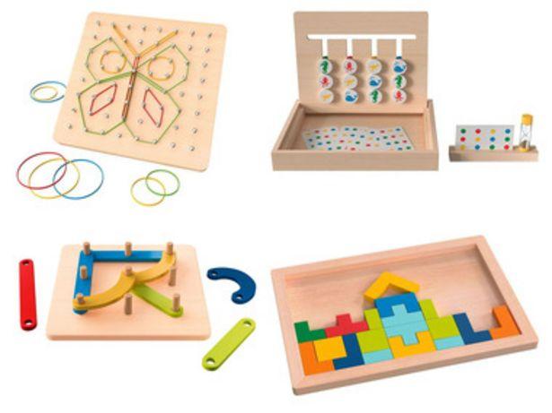 PLAYTIVE® Puzzle en bois offre à 5,99€
