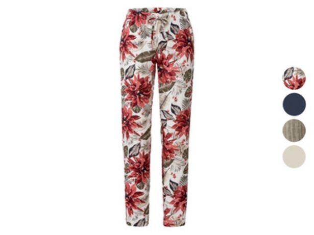 ESMARA® Pantalon léger en un mélange de lin offre à 11,99€