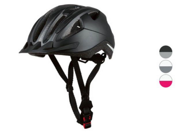 CRIVIT® Casque de vélo avec feu arrière offre à 12,99€