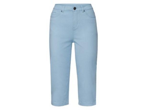 ESMARA® Pantalon stretch avec longueur Capri en un mélange de coton offre à 9,99€