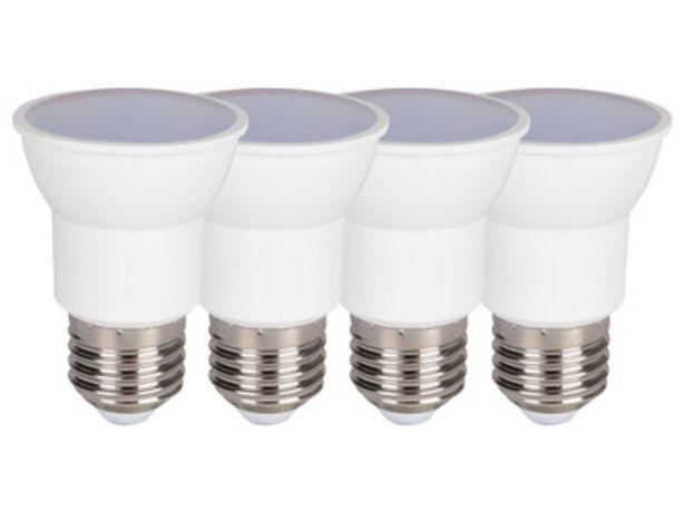 LIVARNO LUX® Ampoule à LED, set de 4 (E27) offre à 9,99€