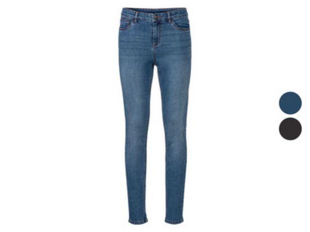 ESMARA® Jean femmes super skinny en un mélange de coton bio offre à 14,99€