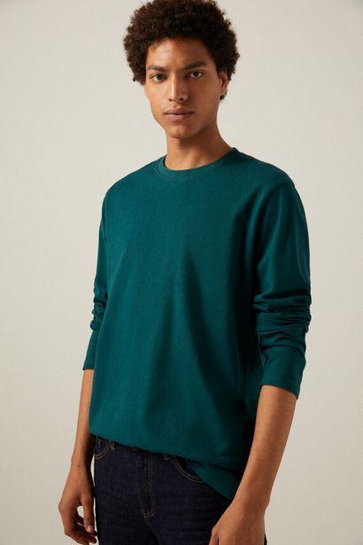 T-shirt boxy manches longues offre à 12,99€