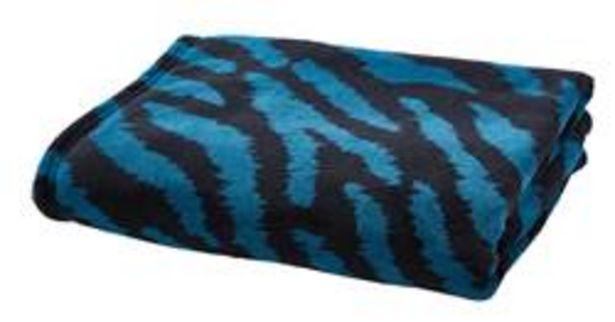 BLUE TIGER Plaid multicolor B 130 x L 160 cm offre à 3,49€