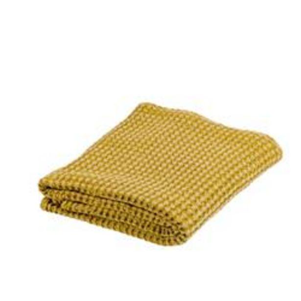 GOFRA Plaid geel B 125 x L 150 cm offre à 18,36€