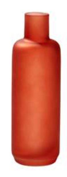 FLEUR Vaas rood H 25 cm; Ø 8 cm offre à 2,14€
