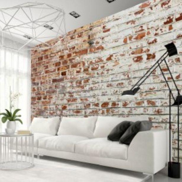 Papier peint aspect vieux mur de briques  offre à 70,28€
