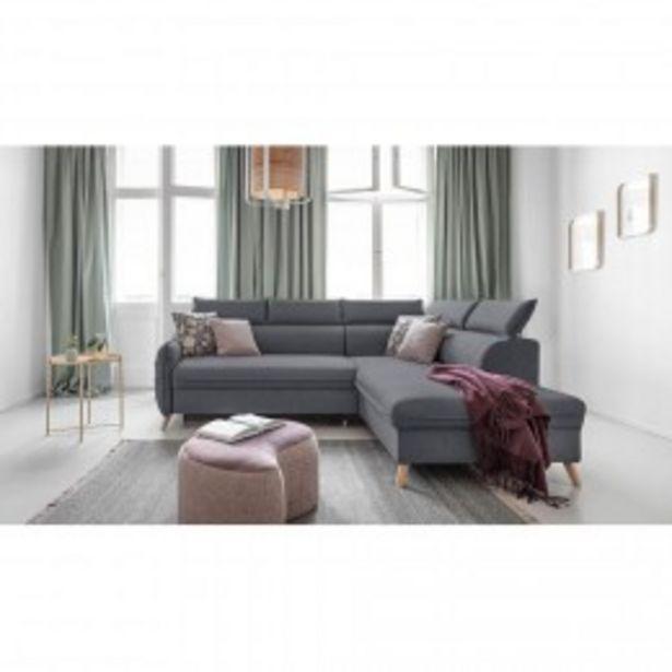 BOBOCHIC MARIUS - Canapé d'angle L convertible - 5 places - Droit  offre à 1198€