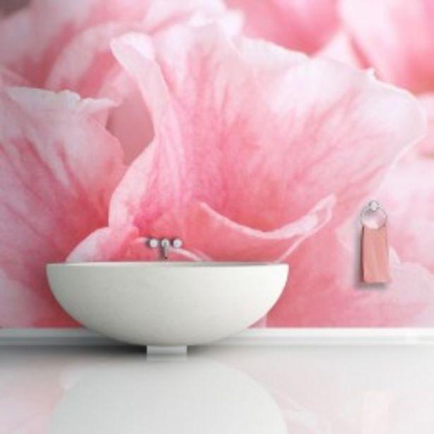 Papier peint pétales de azalée rose  offre à 61,03€