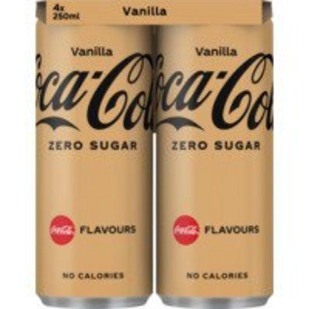 Coca-Cola Zero vanilla offre à 2,59€