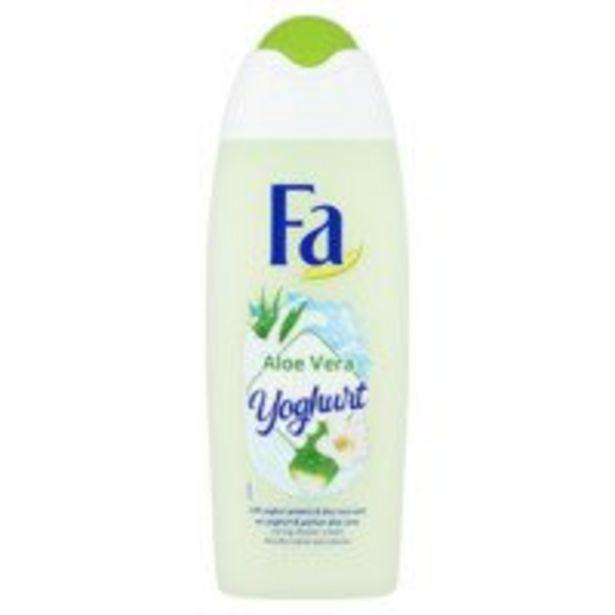 Fa Shower gel yoghurt aloë vera offre à 2,25€