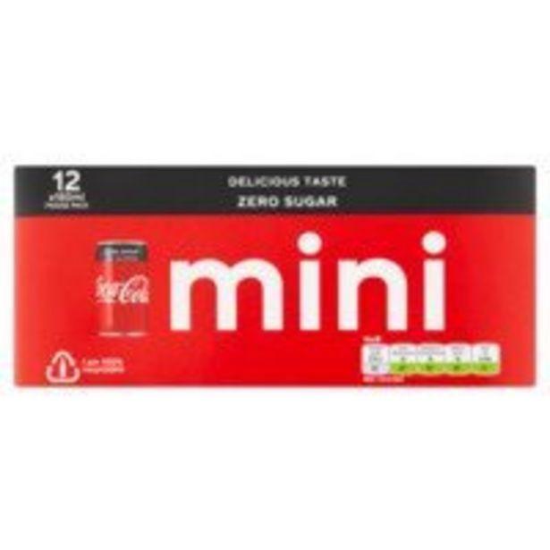 Coca-Cola Zero sugar offre à 5,99€